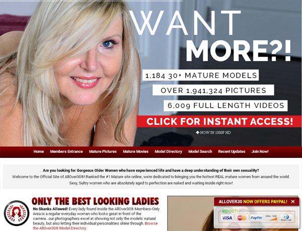 Allover30 Model List