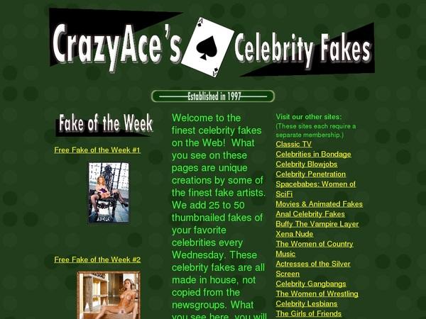 CrazyAces Celebrity Fakes 사다
