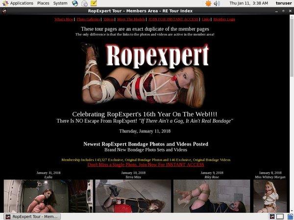 Free Logins For Ropexpert.com