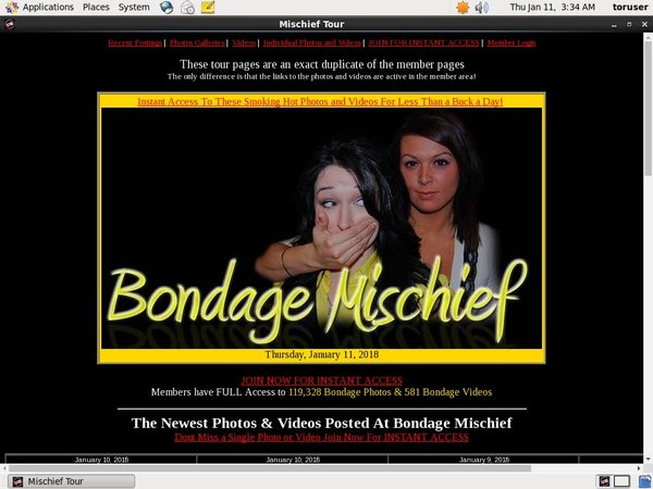 Free User For Bondage Mischief