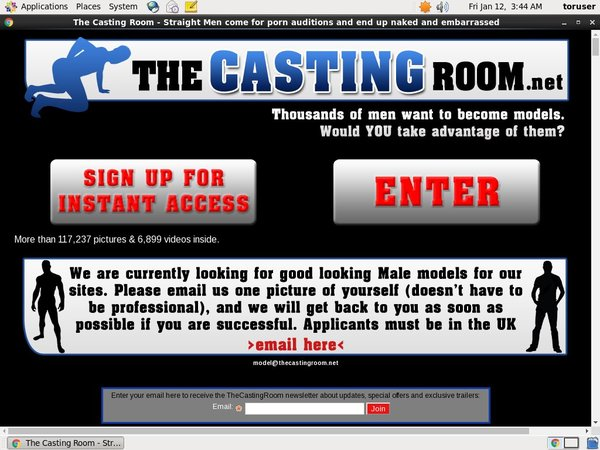 How To Access The Casting Room