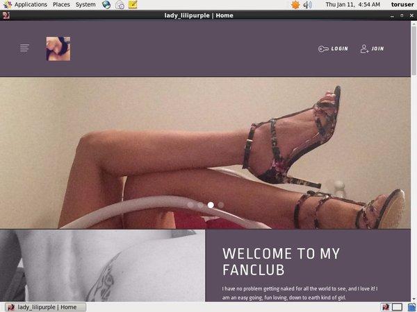 Lili Purple Account List