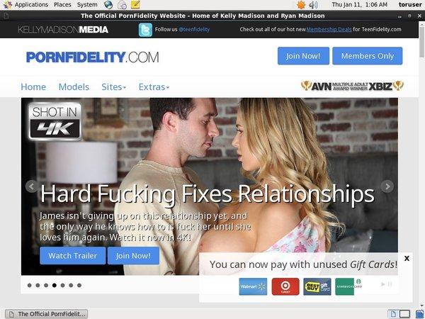 Pornfidelity.com Hacked Password