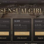 Sensual Girl 신용 카드