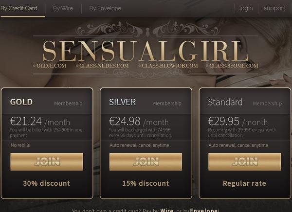 Sensual Girl Discounts