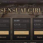 Sensual Girl Gay