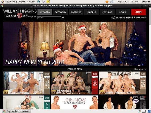 Williamhiggins.com Yearly Membership