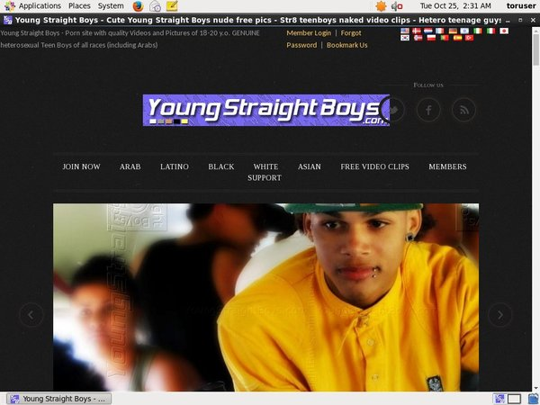 Young Straight Boys Special Offer