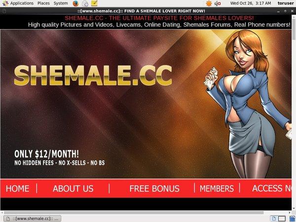 Shemale CC Models