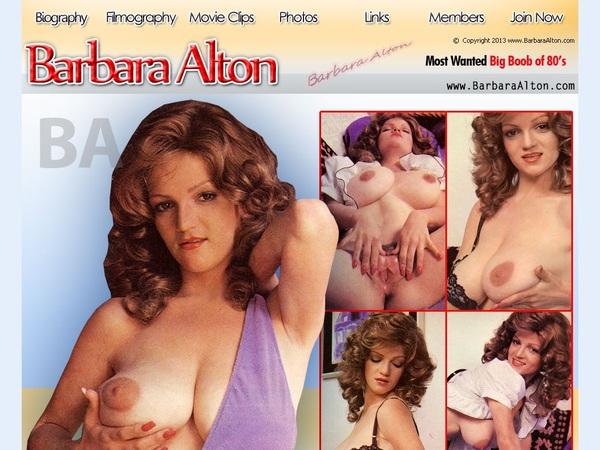 Free Logins For Barbara Alton