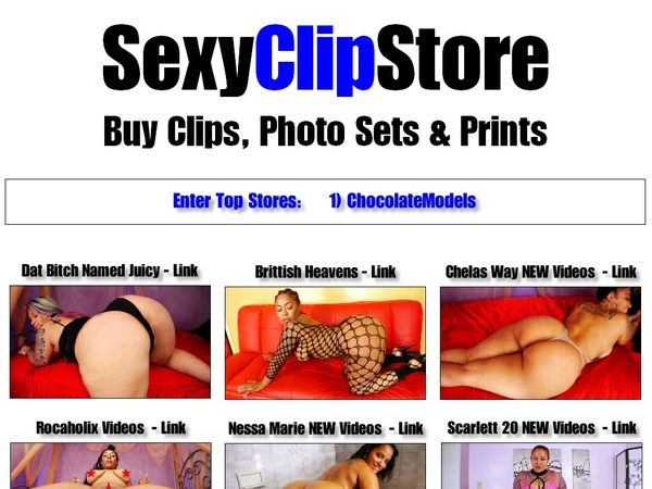 Sexyclipstore.com Login Password