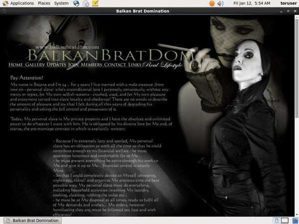 Balkanbratdom.com Passworter