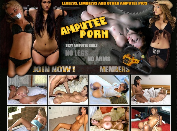 Amputee Porn With Credit Card