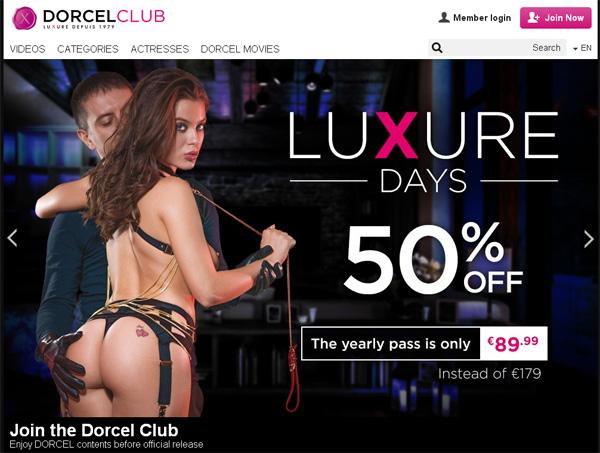 Dorcel Club Log In