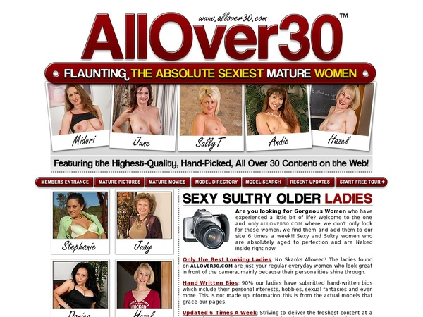 All Over 30 Original Join Form