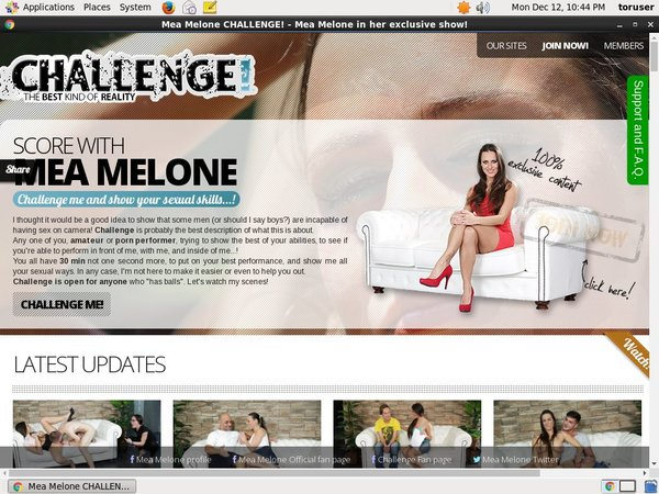 Melone Challenge With Canadian Dollars