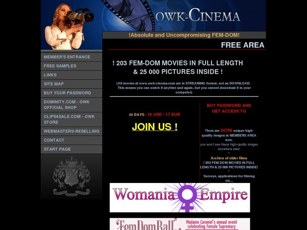 Owk Cinema With No Credit Card