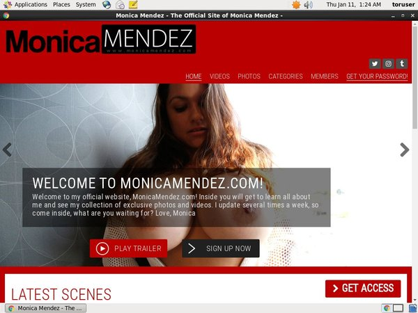 Free Working Monica Mendez Accounts
