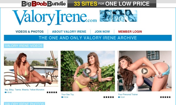 Valoryirene.com Valid Account