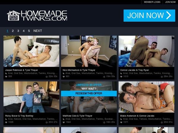 Homemadetwinks.com Logon