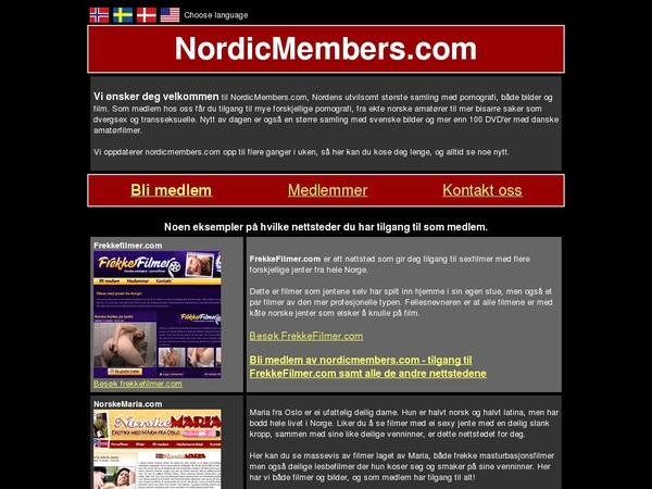 Free Nordicmembers Id